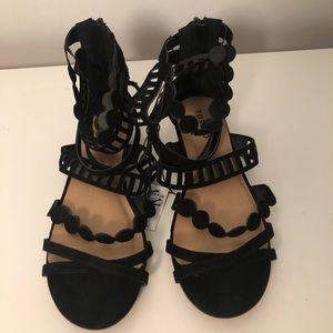 NWT Torrid Lazer Cut Gladiator Sandal Size 9